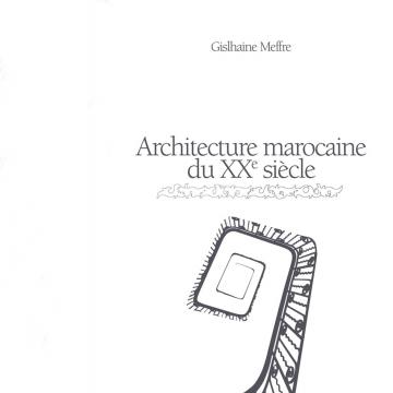 Architecture marocaine du...