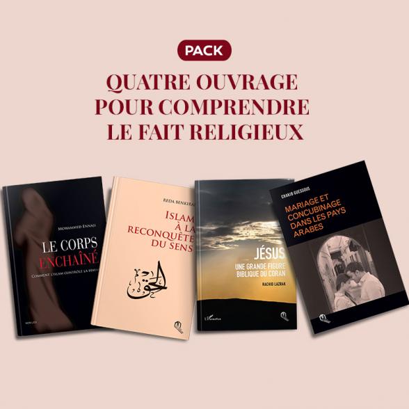 Pack Qitab : 4 ouvrages pour comprendre le fait religieux
